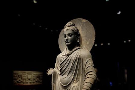 2015.08.15 東京国立博物館 如来立像 パキスタン・ペシャワール TC-733