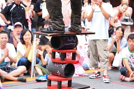 2011.08.07 富士 甲子祭 大道芸