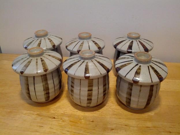 Photos: 820 茶碗蒸しセット$8(1つ蓋に小さいカケあり)