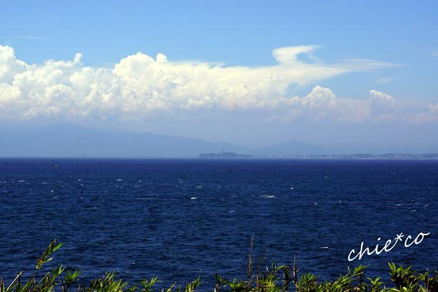 雲と・・江の島のみえる風景・・