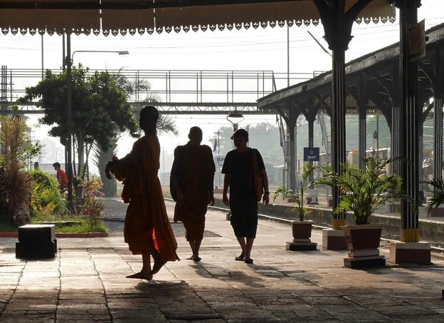 カオチュムトーンの僧侶