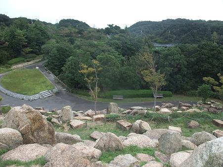 石の遊び場から撮影