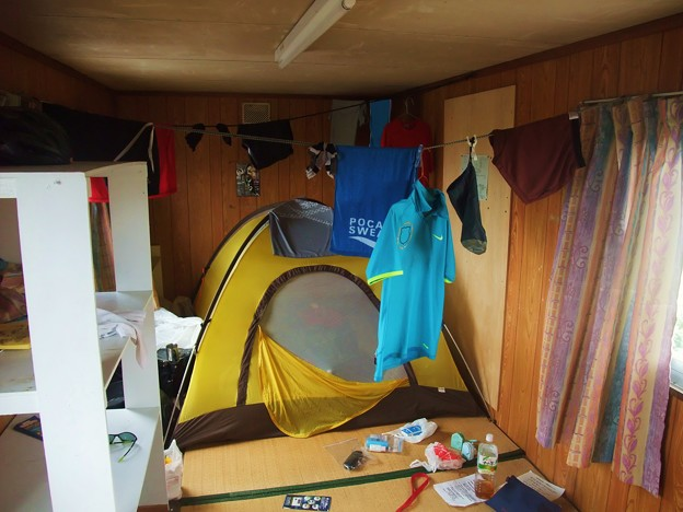 Photos: 天塩 虫除けのテント