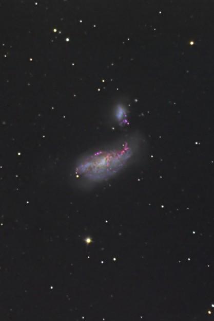 まゆ銀河 NGC4490