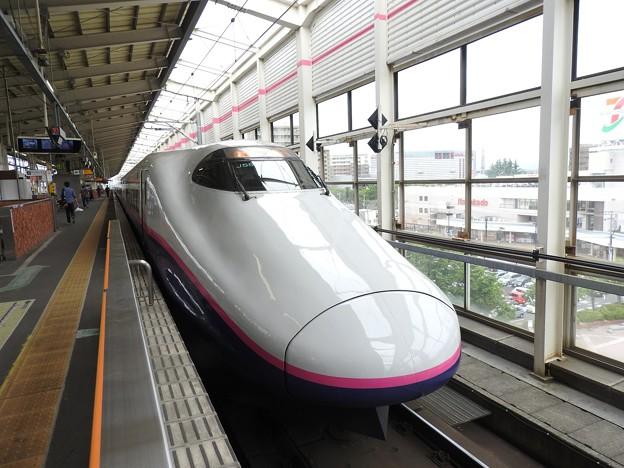 Photos: つばさ号解放したE2系J55編成やまびこ129号仙台行き