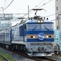 EF510-513牽引8007レ北斗星号札幌行き雀宮1番通過!