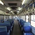 一畑電車デハ5110車内クロスシート 小田急NSEから転用なんですね