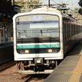 E501系K753編成水戸線756M友部3番停車