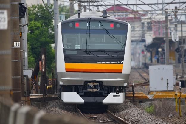 E233系8000番台配給列車。