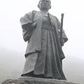 110511-23四国・中国地方ロングツーリング・室戸岬・中岡慎太郎の像