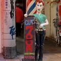 散髪屋の人形