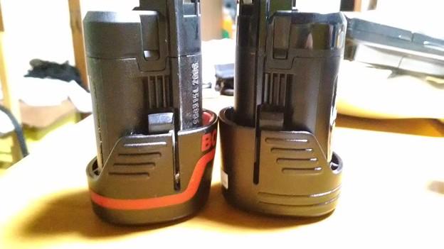 10,8v ボッシュバッテリーと相互バッテリー