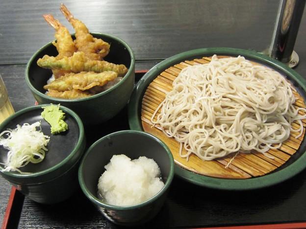 Photos: 天丼セット+大根おろし 650+50