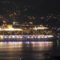 写真: コスタ・セレーナの出港