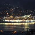 写真: サファイア・プリンセス出港