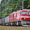 試9173レ 青函トンネル風圧試験列車(1)
