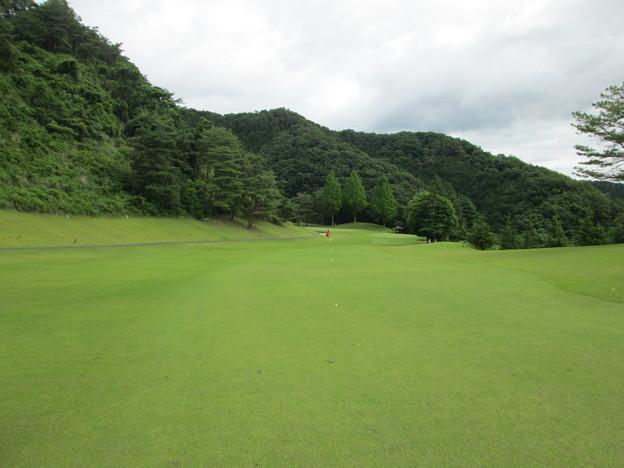 足利城ゴルフ倶楽部7番ホールコース画像