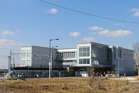 JR東海 相見駅 2012年(平成24年)3月17日(土) 開駅予定で建設中-230225-1