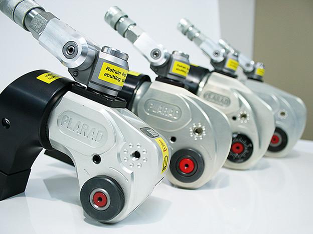 油圧トルクレンチ Plarad SC型18機種・大型ボルト締め工具
