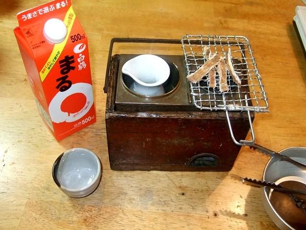 燗銅壺(花見銅壺) 稼動開始 燗酒 HANAMI-SAKE