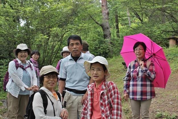 Photos: 森林公園で歩いている何時ものメンバー