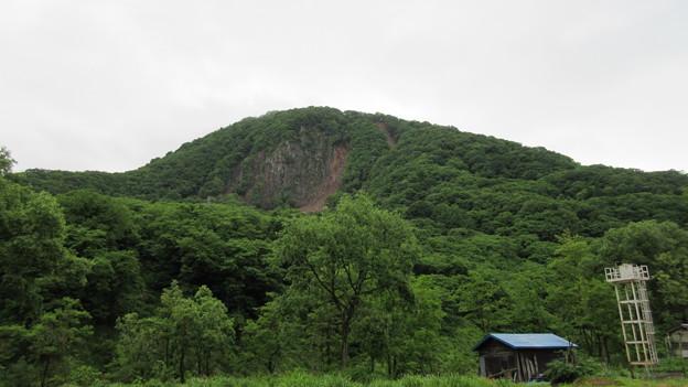 平倉城物見砦(立山。小谷村)