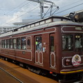 Photos: 嵐電(京福電鉄嵐山線)モボ21型+モボ611型