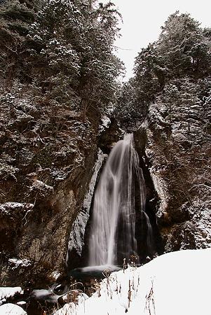 銚子滝・初冬