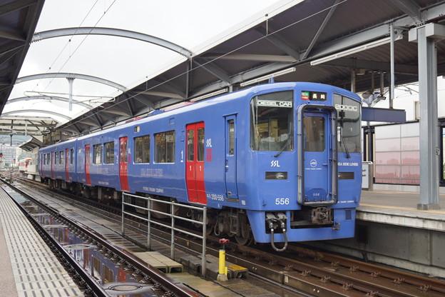 JR九州 シーサイドライナー DC200 佐世保駅