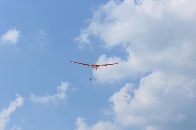 紅いグライダー