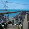 Photos: 外川漁港を望む