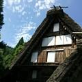 Photos: 今日は合掌造りの家がある飛騨の里に。外国のかたがとても多く観に来...