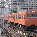 Photos: 大阪環状線103系 桜ノ宮入線