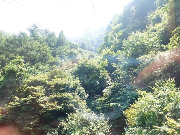 ロープウエイ中 (2)