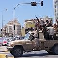 Photos: カダフィへ国際審判が降ったことを喜ぶ市民