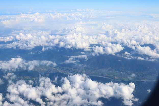 福岡⇒伊丹の景色(3)