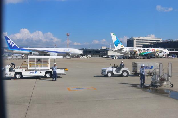 伊丹空港到着(4)