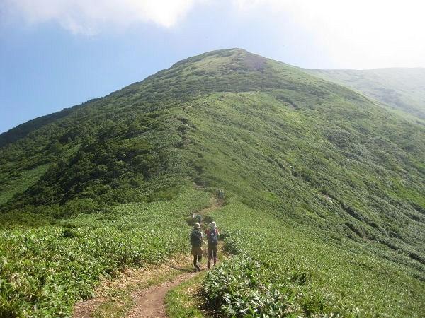 9.12 平標山山頂への稜線s