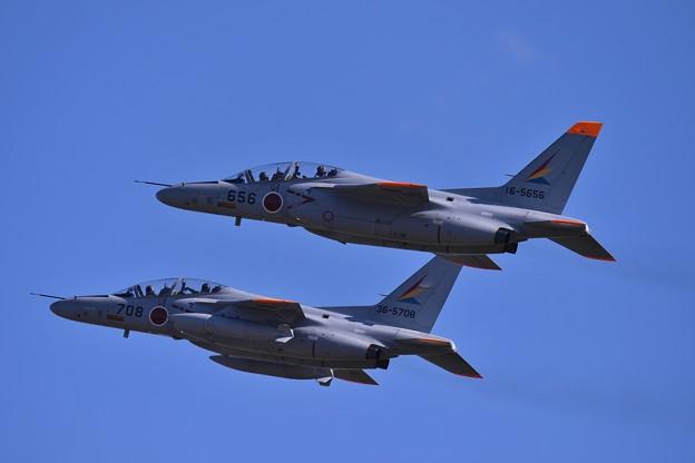 入間のシルバーインパルスT-4 編隊飛行へ・・