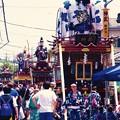 佐原の大祭の山車たち揃って。。7月11日
