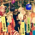 Photos: 夏の大師お祭り。。川崎大師風鈴市7月21日
