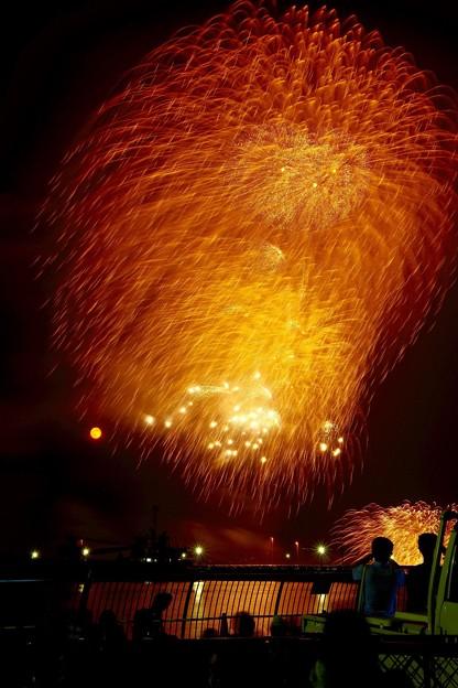 よこすか開港祭花火 フィナーレを。。熱帯夜。。8月1日