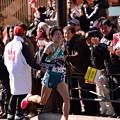 Photos: 2位を突き放して独走態勢へ青学の藤川選手・・20150103