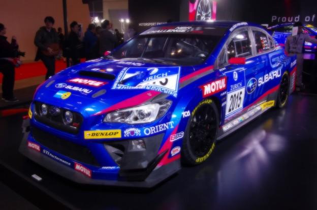ニュルブルリンク24時間耐久レース参戦車WRX STI・・
