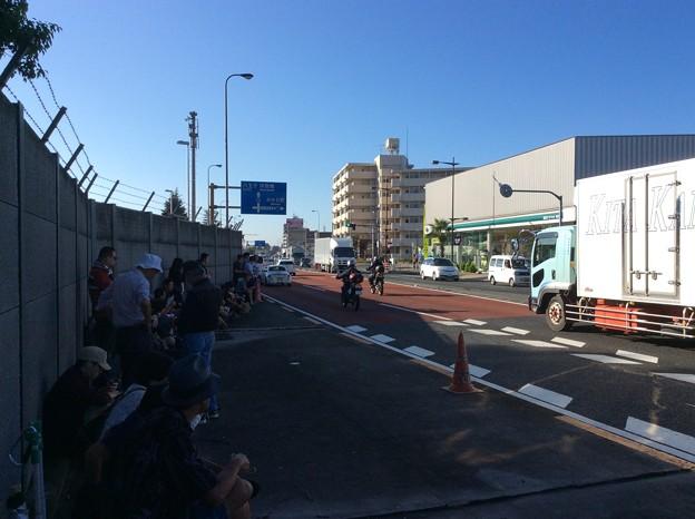 朝の横田基地。。早朝の風景。。9月19日