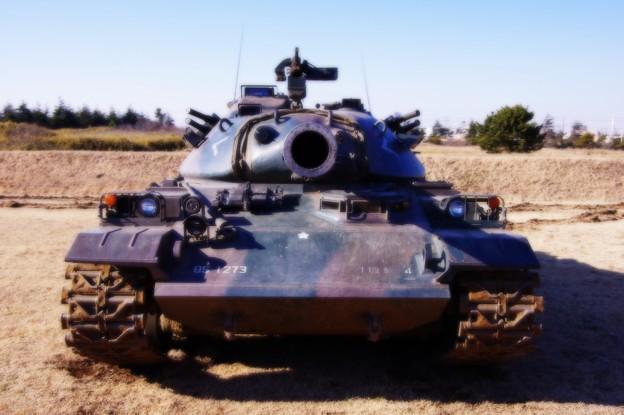 男前の74式戦車 スタイル・・20150111