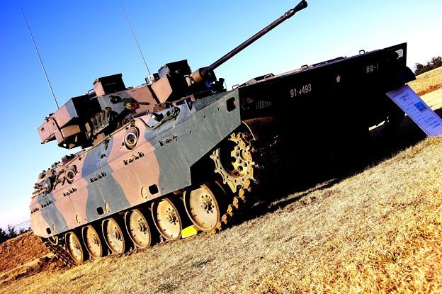 89式戦闘装甲車 愛称:FV・・習志野駐屯地 20150111
