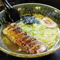 あぶり焼きチャーシュー(たれ)麺/塩