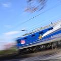 鉄道車両の流し撮り