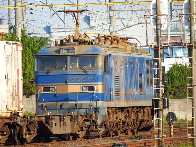 EF510-504牽引2090レ 後追い